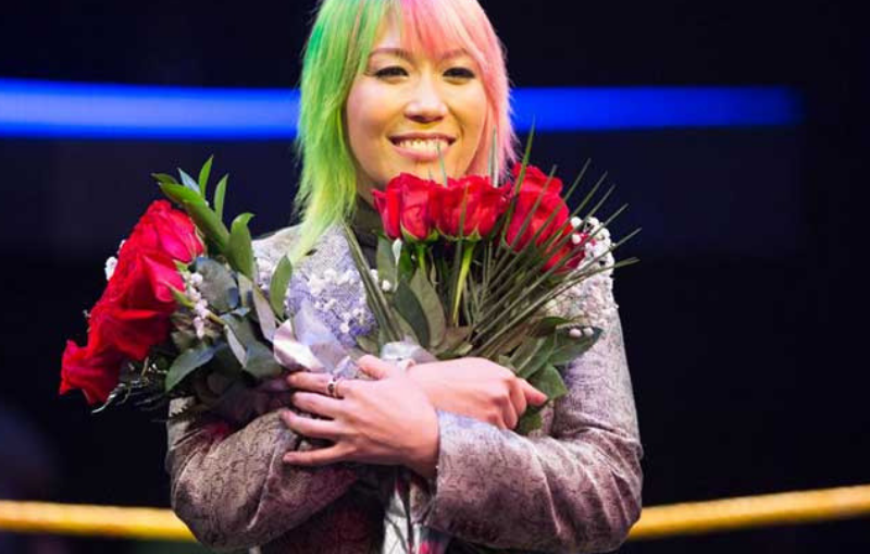 Asuka domina en la WWE