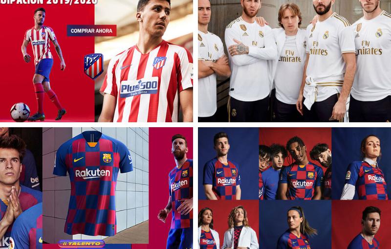 Compra tus camisetas de fútbol de Real Madrid, Barcelona, Atlético de Madrid o de tu equipo favorito en https://www.camisetasfutboleses.com/