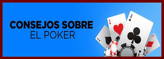 Consejos sobre poker