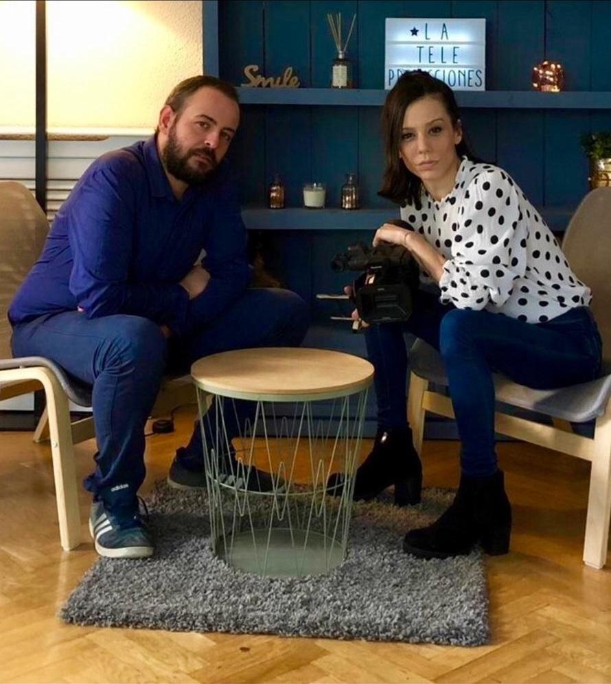 """Sara Williams y Diego Rosás, productores de """"Colaterales"""""""